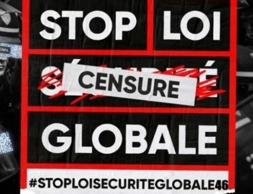 Mobilisons-nous les 16 et 30 janvier contre la loi Sécurité globale et les autres textes liberticides !