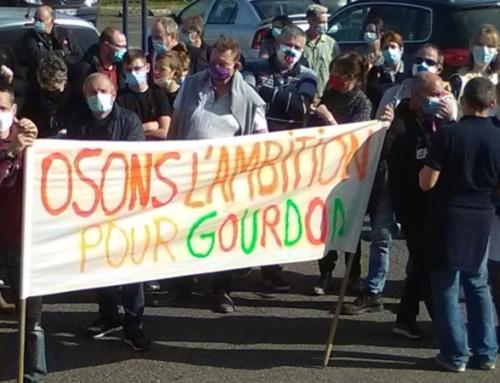 La cité scolaire de Gourdon se mobilise contre la baisse drastique des moyens pour la rentrée 2021